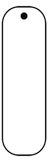 Rectangle Spirit Tag Template