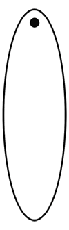 Oval Spirit Tag Template