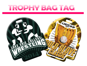 Trophy Bag Tag